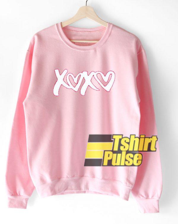 xoxo love sweatshirt
