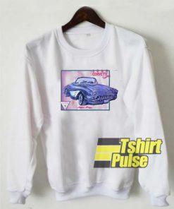1960 Corvette Convertible sweatshirt