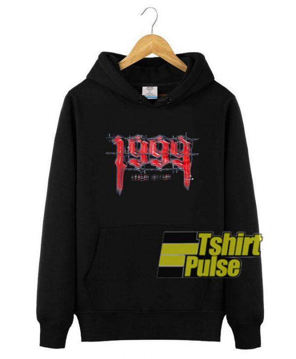 1999 Keagan Human hooded sweatshirt clothing unisex hoodie