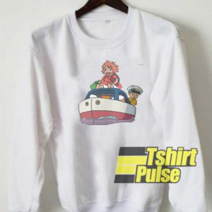 8bit Ponyo sweatshirt