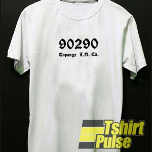 90290 Topanga t-shirt for men and women tshirt
