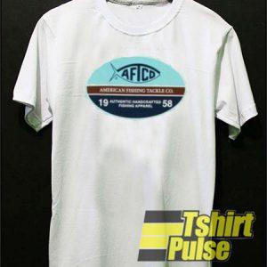 Aftco Fishing Logo t-shirt for men and women tshirt