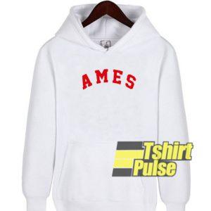 Ames hooded sweatshirt clothing unisex hoodie
