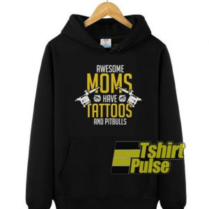 Awesome moms hooded sweatshirt clothing unisex hoodie