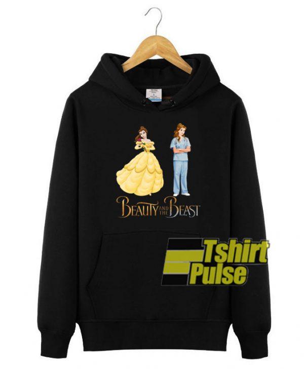 Bella Nurse Beauty and The Beast hooded sweatshirt clothing unisex hoodie
