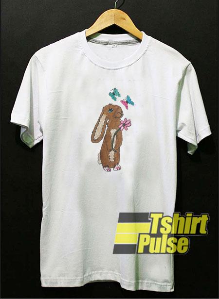 Bunny Love t-shirt for men and women tshirt