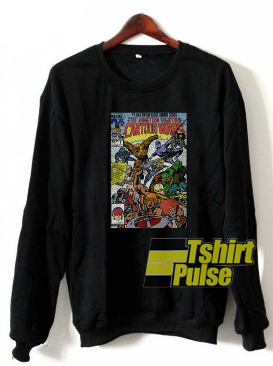 Cartoon Wars sweatshirt