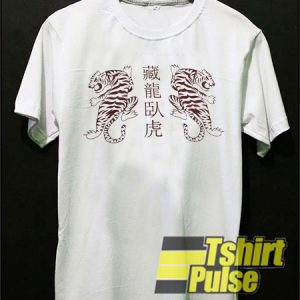 Chinese Tiger t-shirt for men and women tshirt