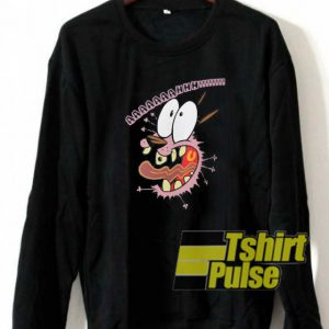Courage the cowardly dog sweatshirt