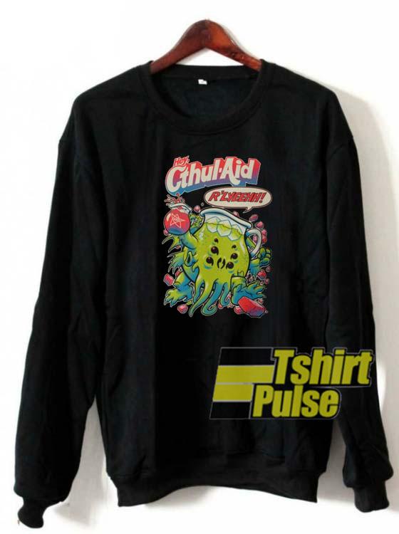 Cthul Aid sweatshirt