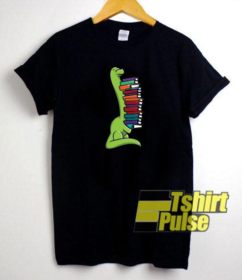 Dinosaur Books t-shirt for men and women tshirt