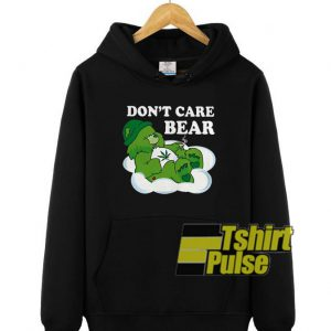 Don't Care Bear Weed hooded sweatshirt clothing unisex hoodie