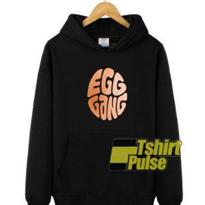 Egg Gang hooded sweatshirt clothing unisex hoodie