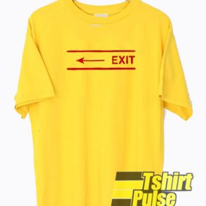 Exit Arrow t-shirt for men and women tshirt