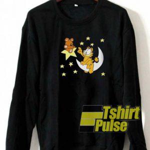Garfield and Bear sweatshirt