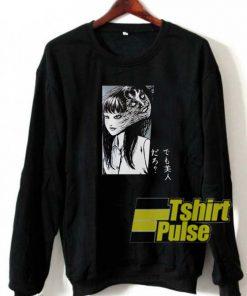 Girl Behind Ghost Japanese sweatshirt