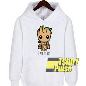 Iam Groot hooded sweatshirt clothing unisex hoodie