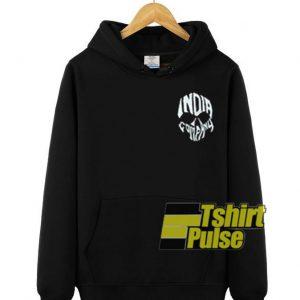 India Company Skull hooded sweatshirt clothing unisex hoodie