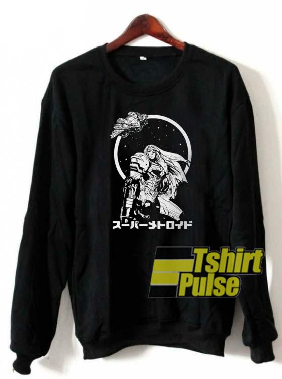 Interstellar Bounty Hunter sweatshirt