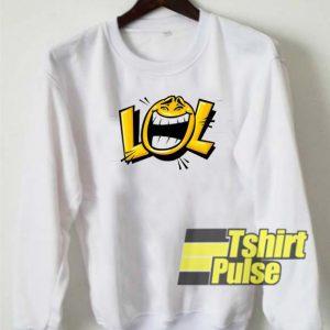 LOL Emoji sweatshirt