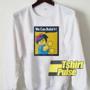 Lego Build It sweatshirt