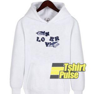 Loner Lover hooded sweatshirt clothing unisex hoodie