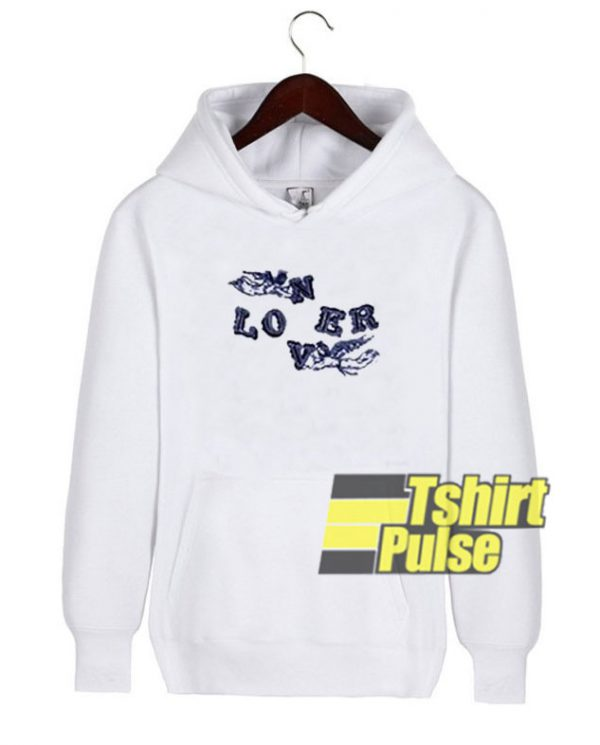 Loner Lover hooded sweatshirt clothing unisex hoodie