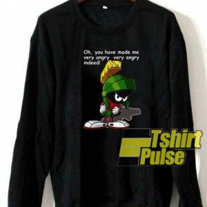 Marvin The Martian Looney Toons sweatshirt