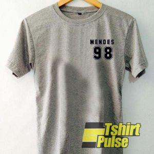 Mendes 98 Ringer t-shirt for men and women tshirt