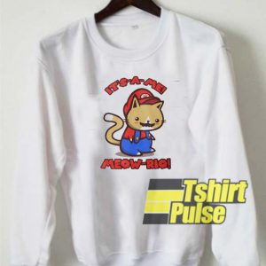 Meow rio sweatshirt