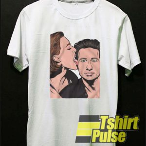 Mulder and Scully X Files t-shirt for men and women tshirt