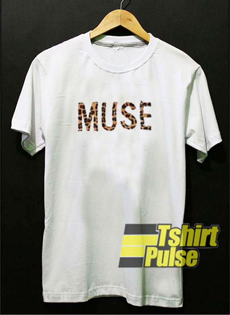 Muse Leopard t-shirt for men and women tshirt