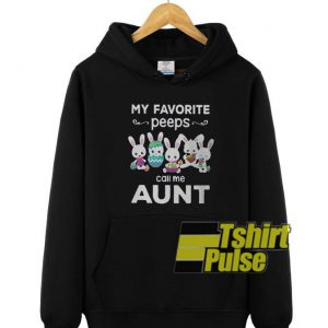 My favorite peeps hooded sweatshirt clothing unisex hoodie