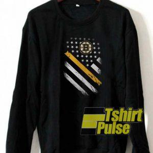 Official Bruins flag sweatshirt