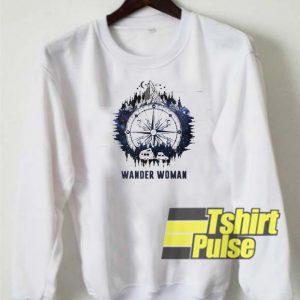 Official Wander woman sweatshirt