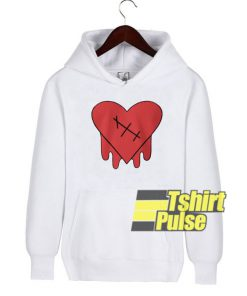 Purpose heart hooded sweatshirt clothing unisex