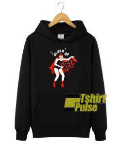 Queen Of Hell hooded sweatshirt clothing unisex