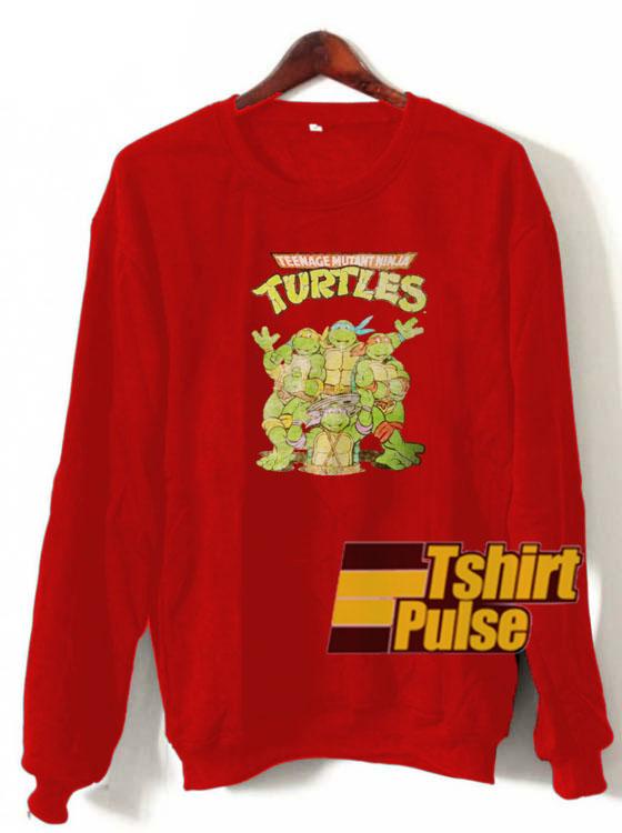 Retro Ninja Turtles sweatshirt