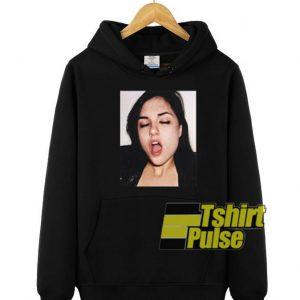 Sasha Grey hooded sweatshirt clothing unisex hoodie