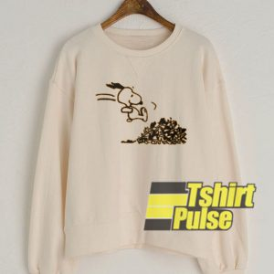 Snoopy Of Run sweatshirt