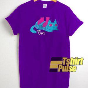 Squish that Cat t-shirt for men and women tshirt