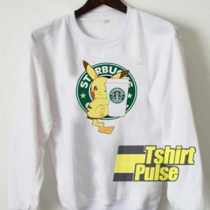 Starbucks Coffee Pikachu sweatshirt