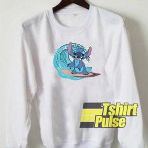 Stitch's Surf Up sweatshirt