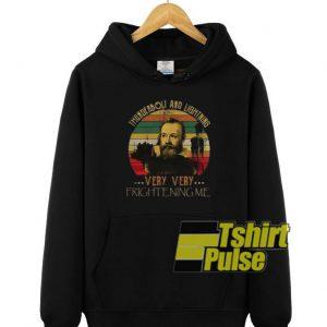 Thunderbolt lightning Galileo hooded sweatshirt clothing unisex hoodie