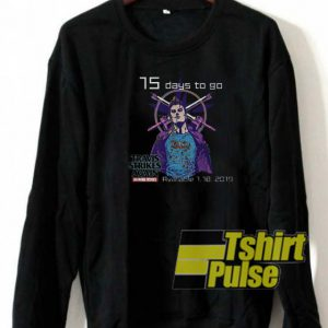 Travis strikes undertake sweatshirt