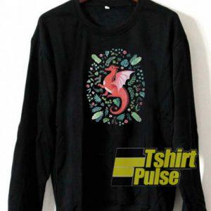 Tropical Dragon sweatshirt
