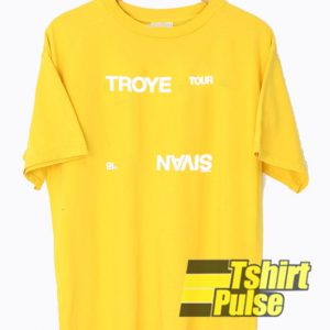 Troye Sivan '18 Tour t-shirt for men and women tshirtTroye Sivan '18 Tour t-shirt for men and women tshirt