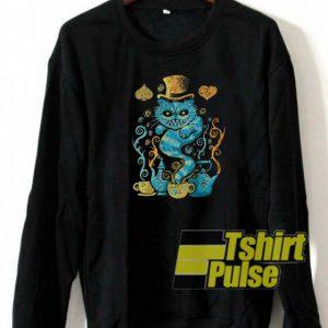 Wondercat Impressions sweatshirt