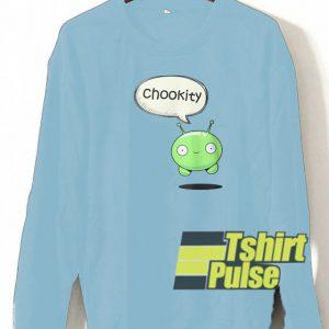 chookity mooncake sweatshirt