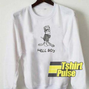 lil peep hellboy sweatshirt